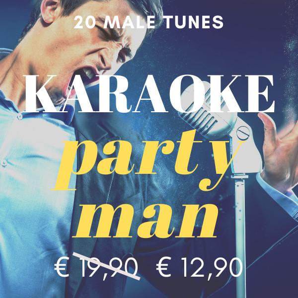 karaoke party man