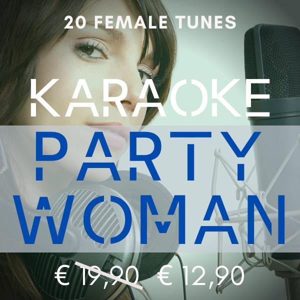 karaoke party woman